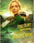 دواین جانسون و امیلی بلانت در پوستر فیلم «جنگل کروز» (Jungle Cruise)