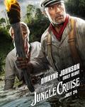 دواین جانسون و امیلی بلانت در پوستر فیلم سینمایی «جنگل کروز» (Jungle Cruise)