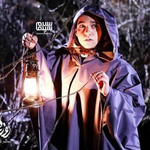 مهسا غفوری در سریال «روزهای آبی»