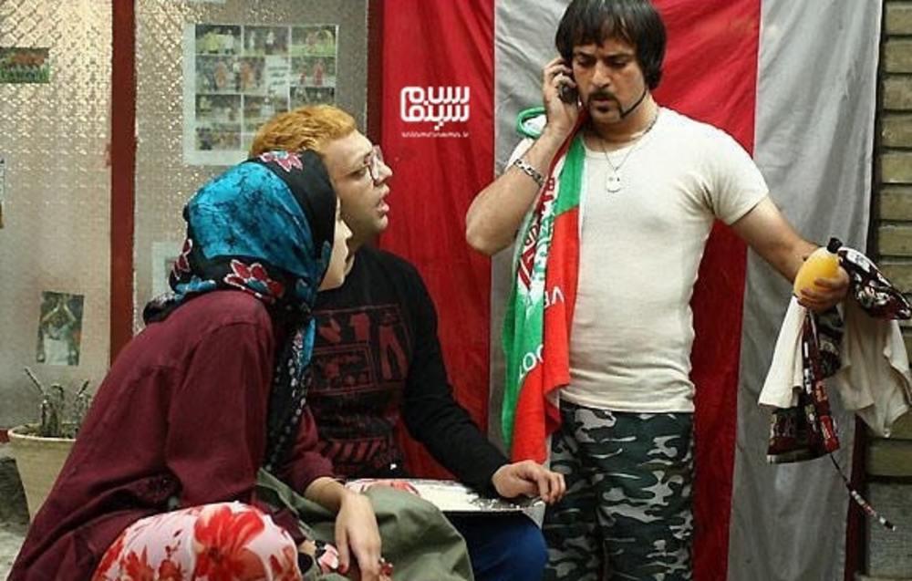 صابر ابر و احمد مهران فر در فیلم «هیچ»