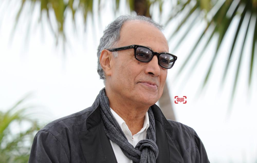 عباس کیارستمی در فتوکال فیلم «مثل یک عاشق»(Like Someone in Love) در جشنواره فیلم کن