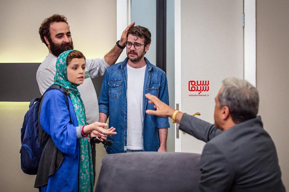 خسرو پسیانی، امیر نوروزی و غزل شجاعی در سریال نمایش خانگی «مردم معمولی»