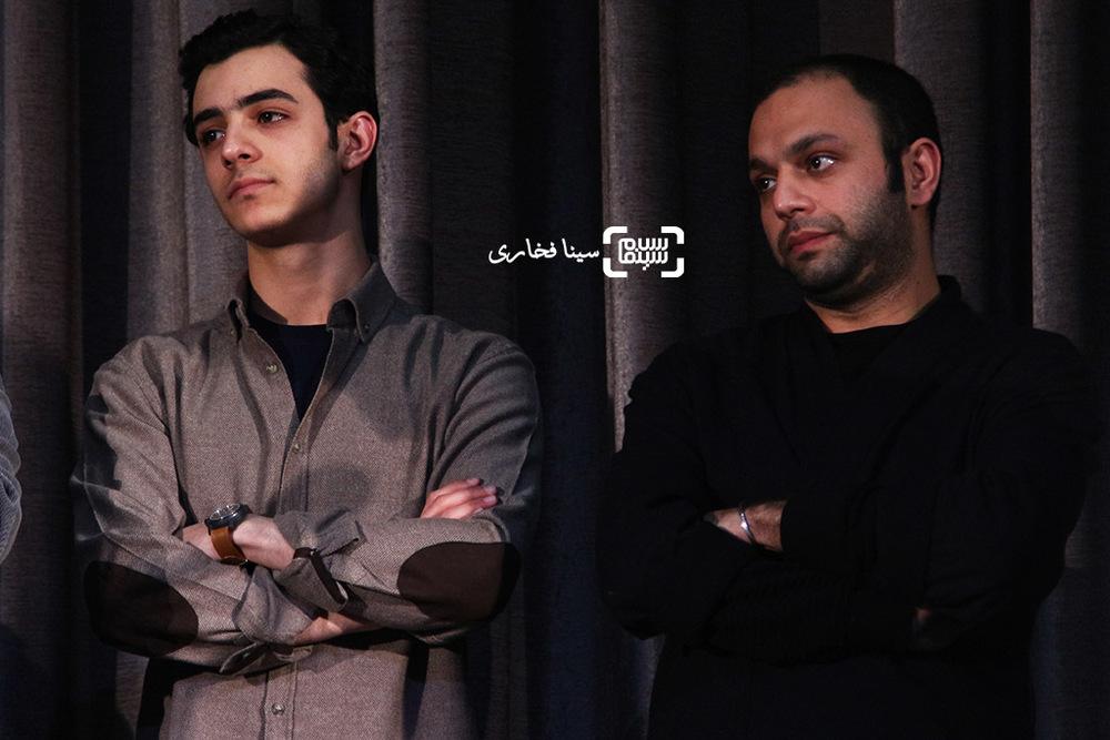 علی شادمان و صابر ابر در اکران خصوصی فیلم «ویلایی ها»