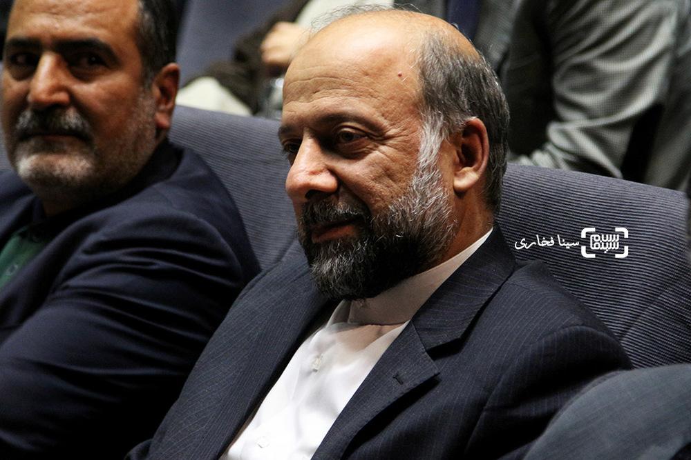 محمدمهدی حیدریان در اکران خصوصی فیلم «ویلایی ها»