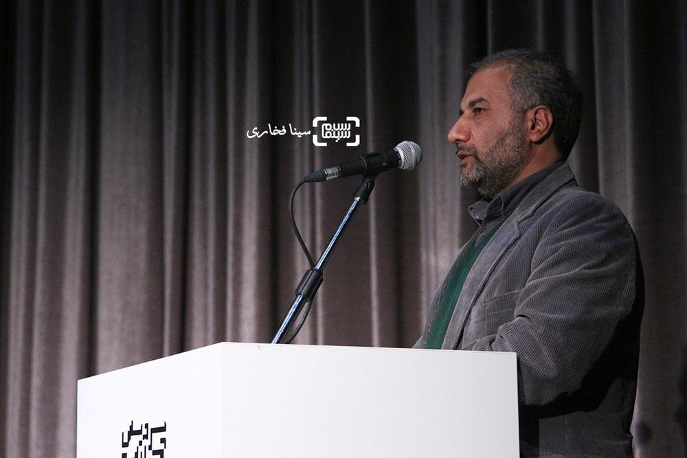 محمدمهدی عسگرپور در اکران خصوصی فیلم «ویلایی ها»