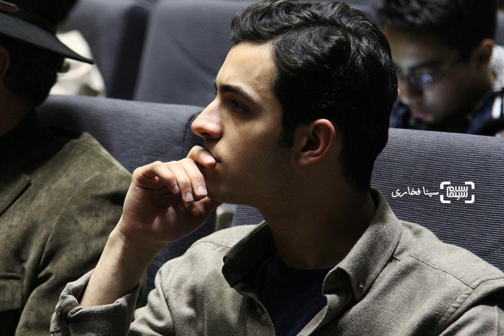 علی شادمان در اکران خصوصی فیلم «ویلایی ها»