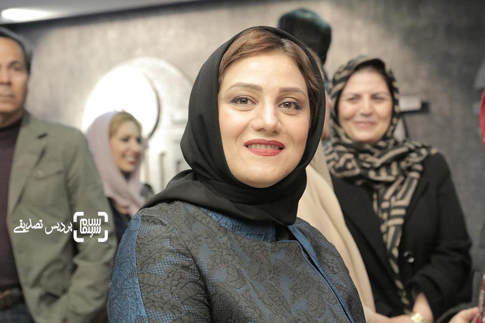 شبنم مقدمی در اکران خصوصی فیلم «آباجان»