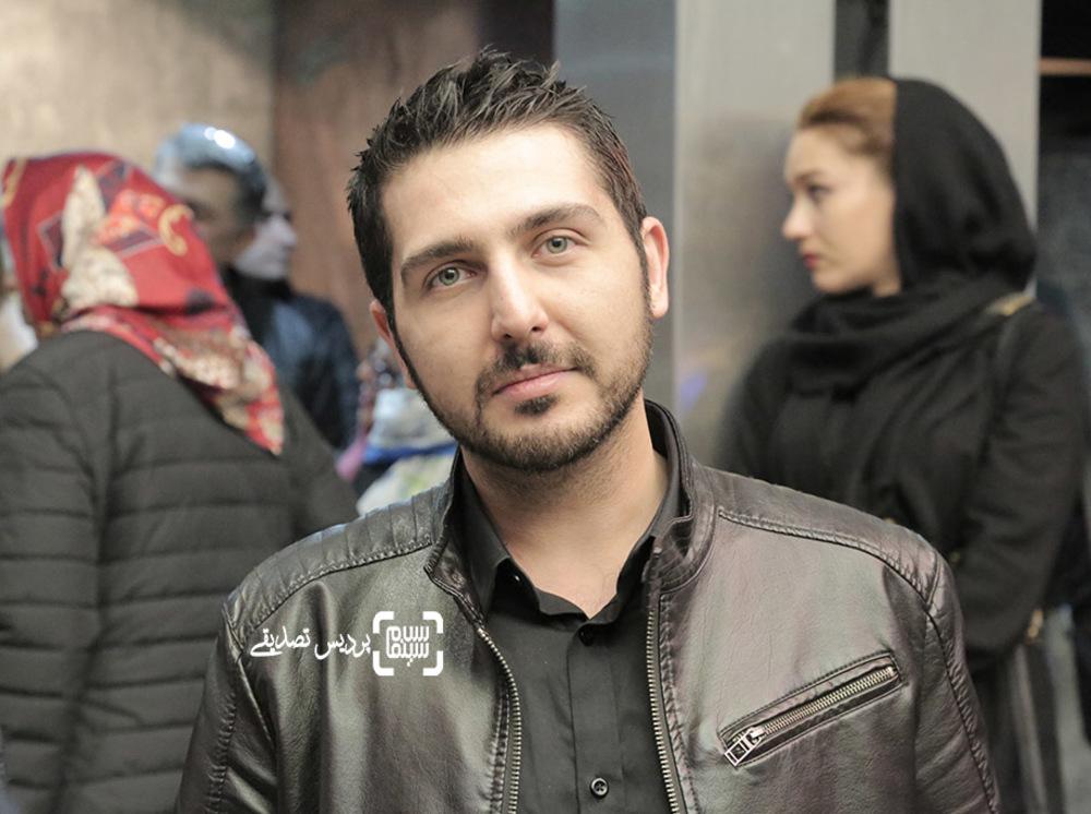 محمدرضا غفاری در اکران خصوصی فیلم «آباجان»