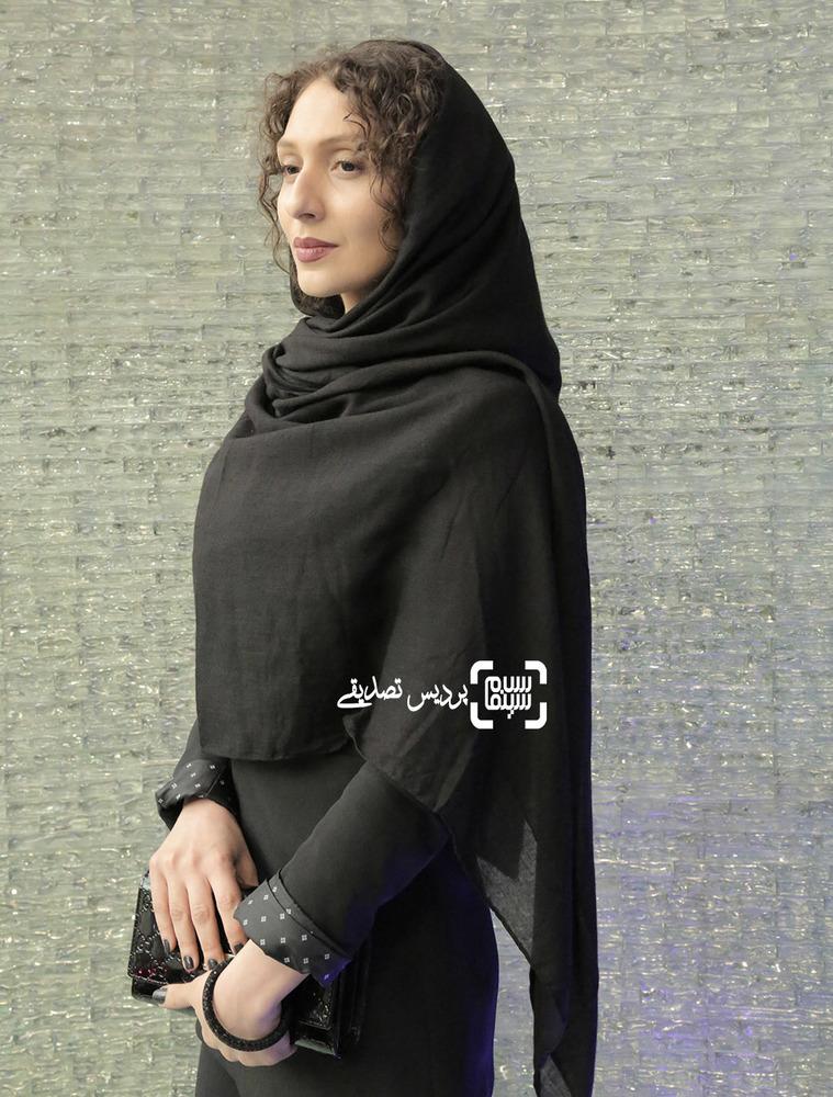 ملیسا ذاکری در اکران خصوصی فیلم «آباجان»