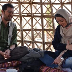 شهاب حسینی و نازنین بیاتی در فیلم طعم شیرین خیال
