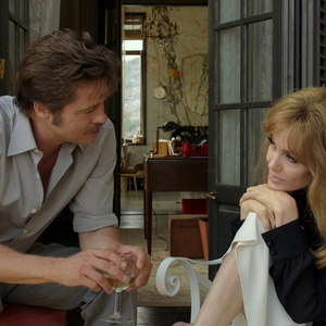 آنجلینا جولی و برد پیت در فیلم «کنار دریا»(By The Sea)
