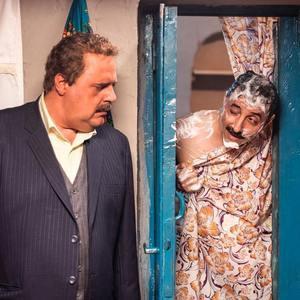 هومن برق نورد و امیرحسین رستمی در سریال «دودکش 2»