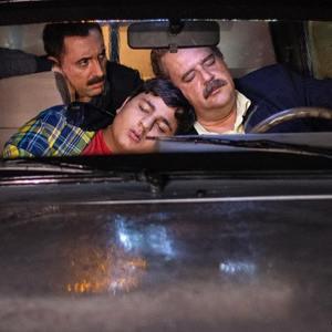 محمدرضا شیرخانلو، هومن برق نورد و امیرحسین رستمی در سریال «دودکش 2»