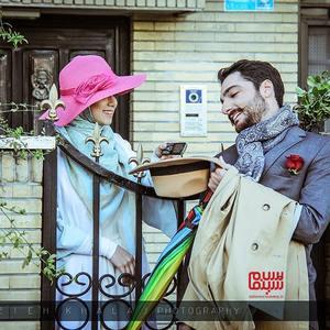 سجاد بابایی و سارا مقربی در سریال «زندگی زیباست»