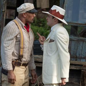 دواین جانسون و جک وایتهال در فیلم سینمایی «جنگل کروز» (Jungle Cruise)