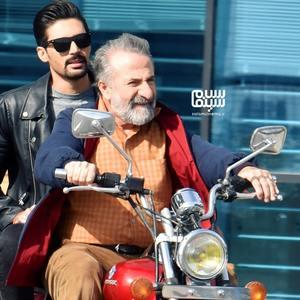 مهران رجبی و سام کرمی در فیلم «هزار سال با تو»
