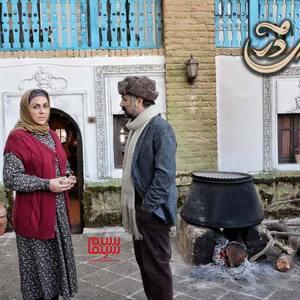 شیوا ابراهیمی در سریال «کلبه ای در مه»