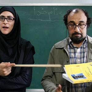 رضا عطاران و ویشکا آسایش در فیلم سینمایی «ورود آقایان ممنوع»