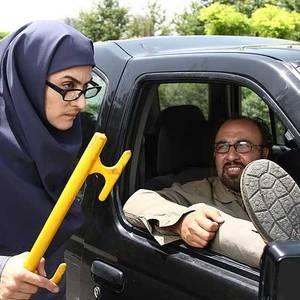 رضا عطاران و ویشکا آسایش در «ورود آقایان ممنوع»