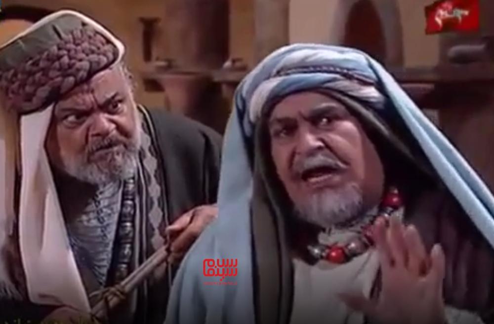 ابراهیم آبادی و عباس امیری مقدم در سریال «معصومیت از دست رفته»
