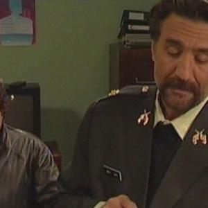 محمدرضا شریفی نیا و رضا توکلی در سریال «سفر سبز»