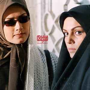 سارا خوئینی ها و لادن مستوفی در سریال «سفر سبز»
