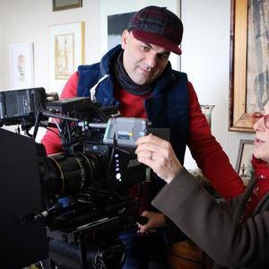 فرشاد محمدی و فاطمه معتمدآریا در پشت صحنه فیلم «دل دیوانه»