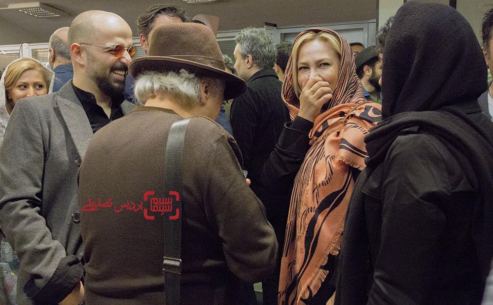 آنا نعمتی در اکران خصوصی فیلم سینمایی «مفت آباد»