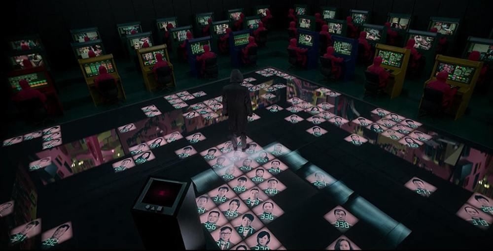 نمایی از سریال «بازی مرکب» (Squid Game)