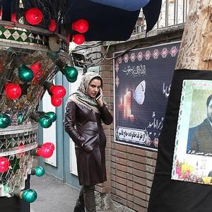 مریم ابراهیم وند در پشت صحنه فیلم «24 سپتامبر»