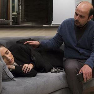 علی مصفا و نگار جواهریان در نمایی از فیلم «دوئت»