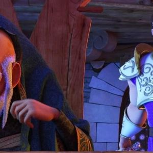 نمایی از انیمیشن شاهزاده روم ساخته هادی محمدیان