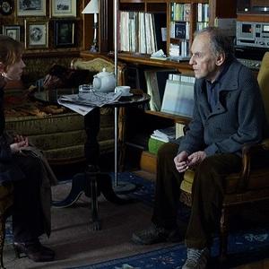 ایزابل هوپر و ژان لویی ترنتینیان در فیلم «پایان خوش»(happy end)