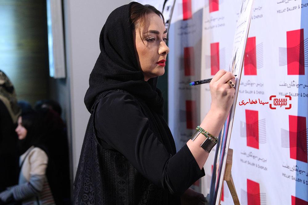هانیه توسلی در اکران خصوصی فیلم سینمایی «نقطه کور»