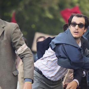 لویی گارل در فیلم «نیرومند»(Redoubtable)