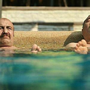حمید فرخ نژاد و رضا عطاران  در فیلم «ما شما را دوست داریم خانم یایا»