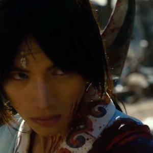 سوتا فوکوشی در فیلم «تیغه جاودانه»(Blade of the Immortal)
