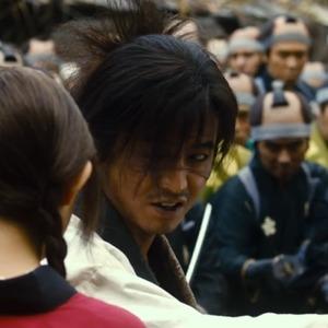 تاکویا کیمورا در نمایی از فیلم «تیغه جاودانه»(Blade of the Immortal)