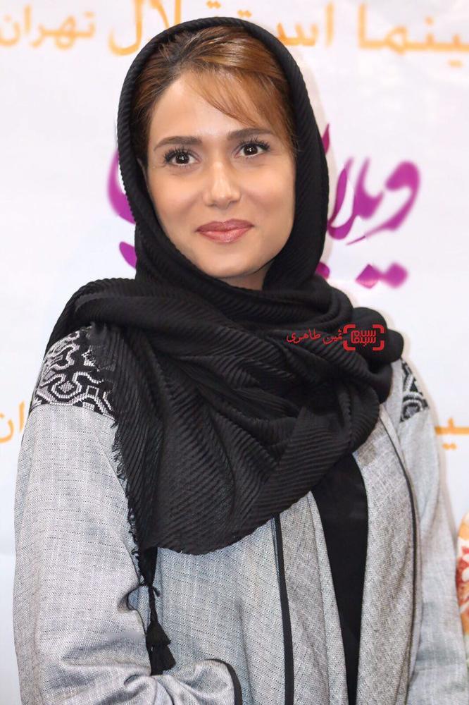پریناز ایزدیار در اکران فیلم «ویلایی ها» در سینما استقلال