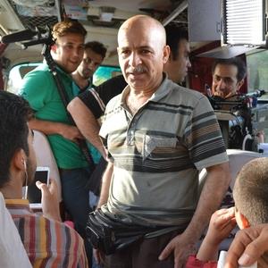 غلامرضا رمضانی در پشت صحنه فیلم فرار از اردو