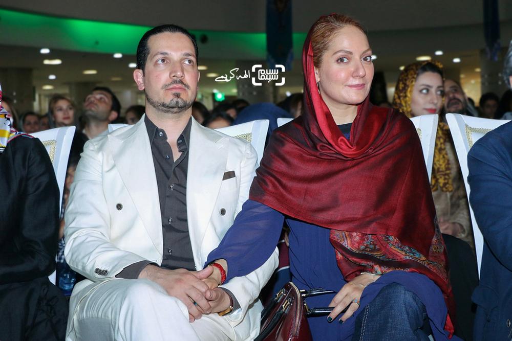 مهناز افشار و همسرش یاسین رامین در اکران مردمی فیلم «نهنگ عنبر2; سلکشن رویا» در سینما مگامال