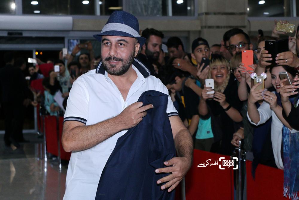 رضا عطاران در اکران مردمی فیلم «نهنگ عنبر2; سلکشن رویا» در سینما مگامال
