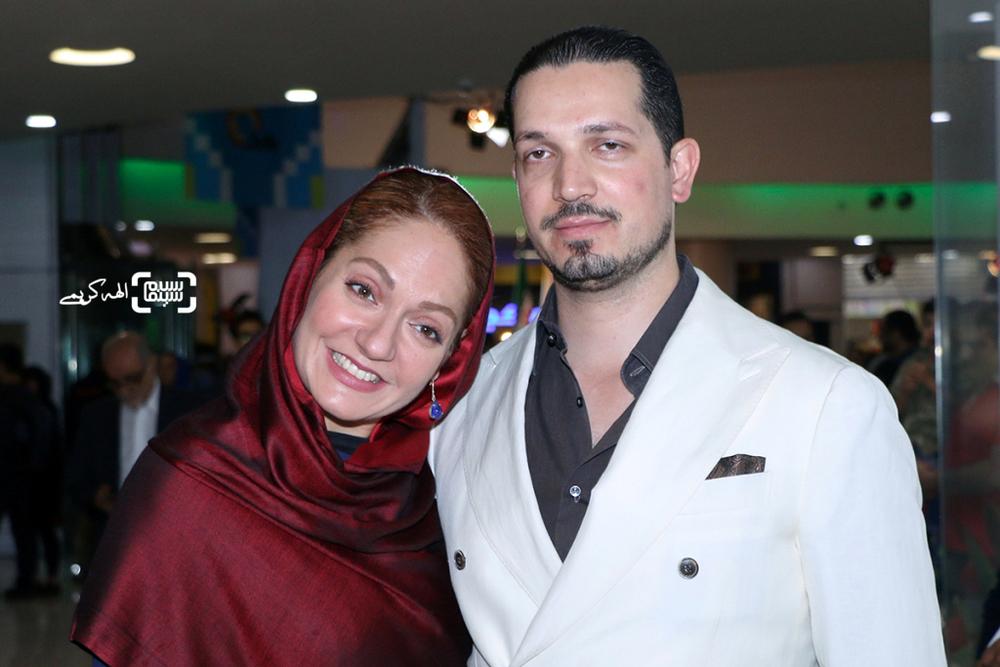 مهناز افشار و همسرش یاسین رامین در اکران مردمی «نهنگ عنبر2; سلکشن رویا» در سینما مگامال
