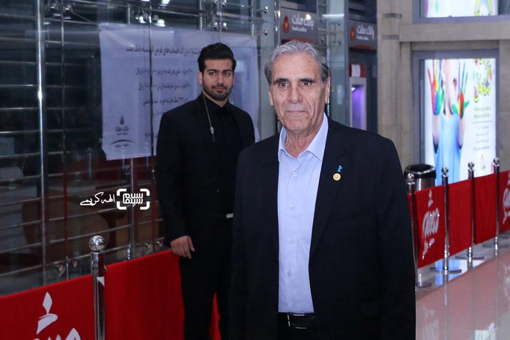 رضا ناجی در اکران مردمی فیلم «نهنگ عنبر2; سلکشن رویا» در سینما مگامال
