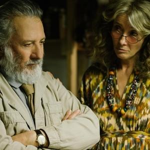 اما تامپسون و داستین هافمن در فیلم «داستان های مایروویتز»(The Meyerowitz Stories)