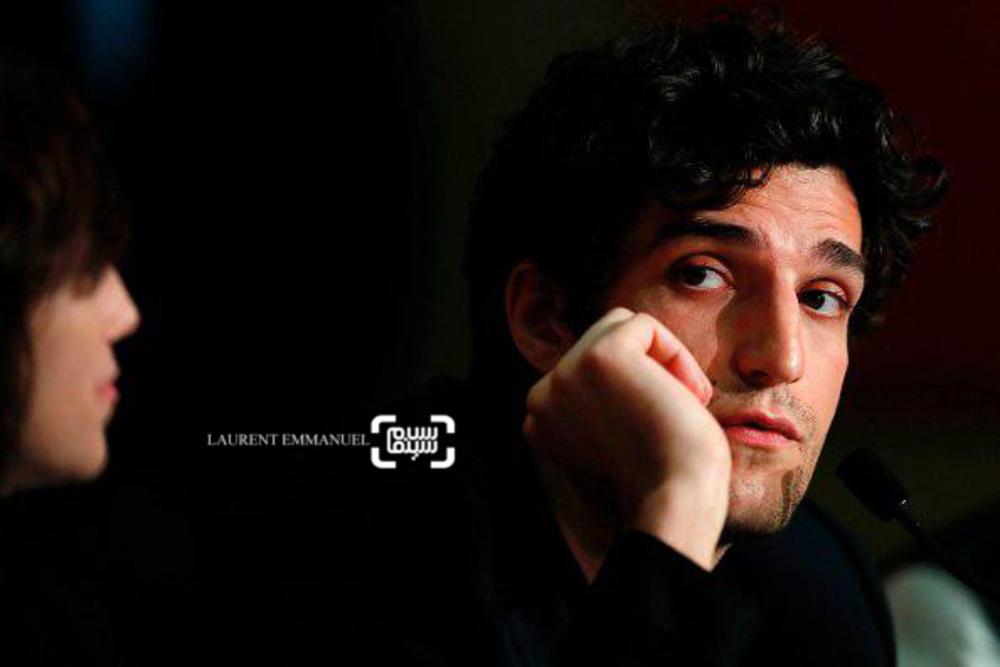 لویی گارل در مراسم فتوکال فیلم «ارواح اسماعیل»(ismael ghosts) در جشنواره فیلم کن2017