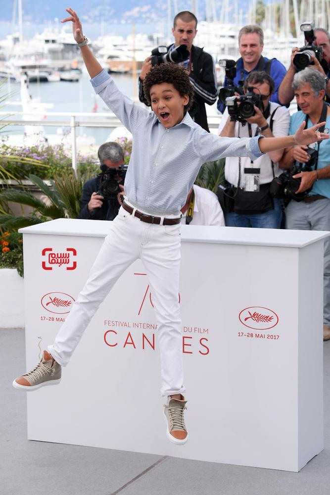 جیدن میشل در فتوکال فیلم «شگفت زده»(Wonderstruck) در جشنواره فیلم کن2017