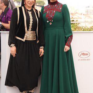 سودابه بیضایی و نسیم ادبی در فتوکال فیلم «لرد» در جشنواره فیلم کن 2017