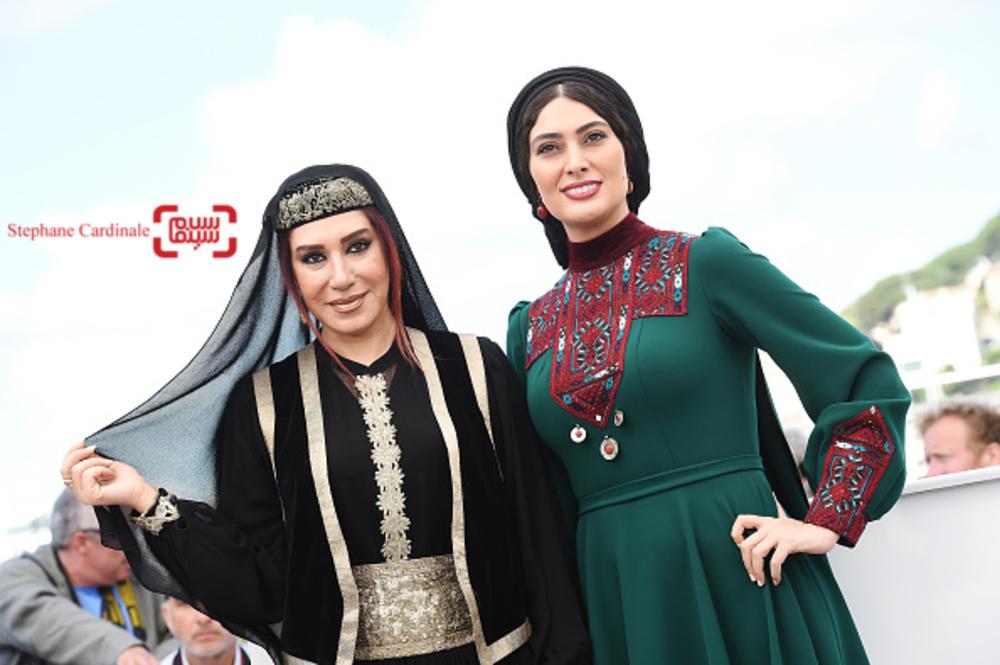 سودابه بیضایی و نسیم ادبی در فتوکال فیلم «لرد» در بخش نگاه نو در جشنواره کن 2017
