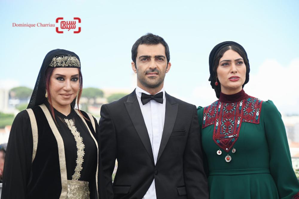 سودابه بیضایی، رضا اخلاقی راد و نسیم ادبی در فتوکال فیلم «لرد» در جشنواره کن2017